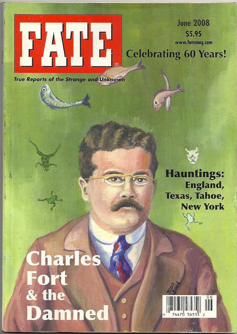 Portada FATE con Charles Fort