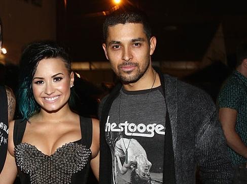 Demi Lovato y Wilmer Valderram