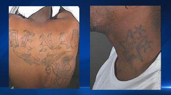Tatuajes distintos que porta Wright.