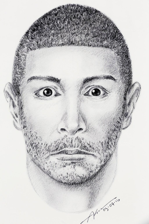 El sospechoso es posiblemente un hispano, reportaron las autoridades. (Foto Aurelia Ventura/ La Opinion)