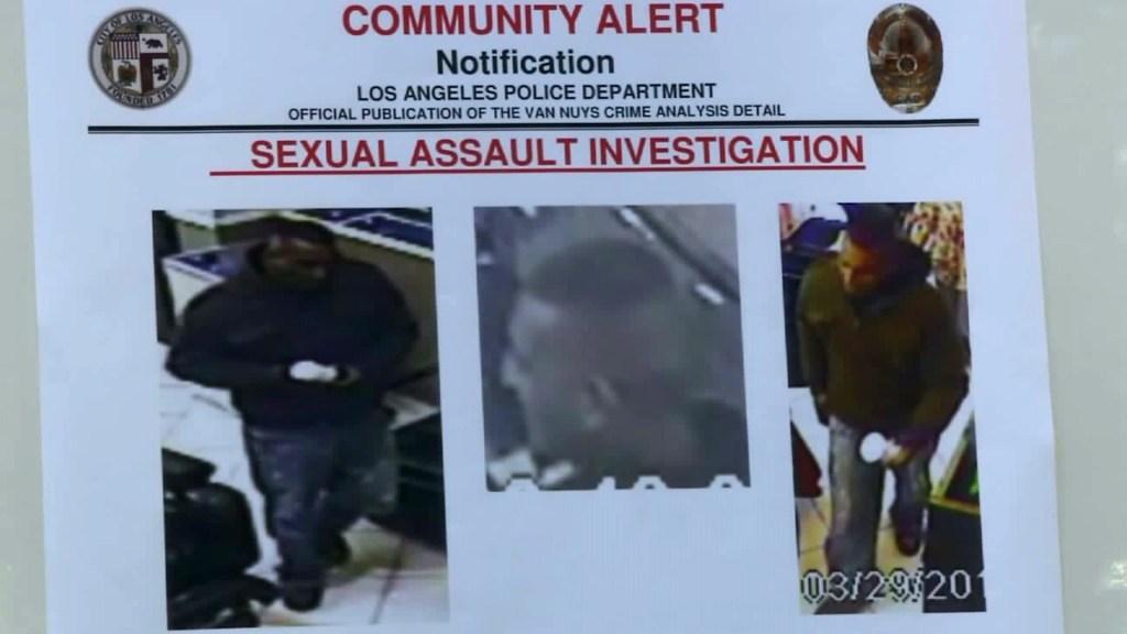 El hombre es buscado luego de abusar de mujer en un negocio de Van Nuys /LAPD