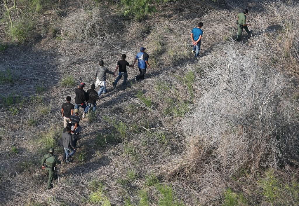 Aerial Views Of The U.S.-Mexico Border On The Rio Grande