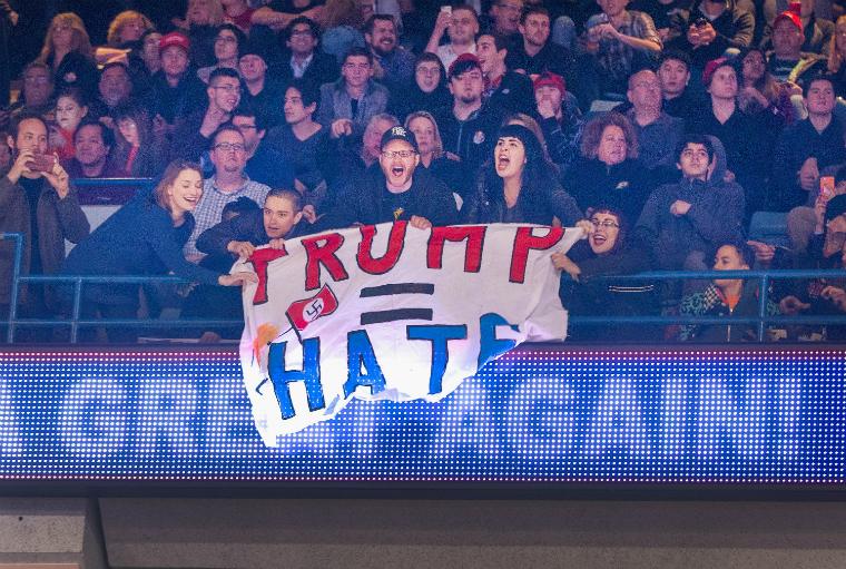 Mitín de Trump cancelado en Chicago