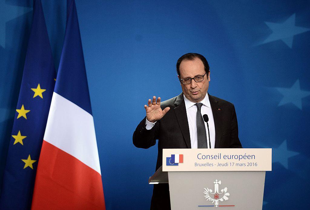 """El presidente de Francia, Francois Hollande, advirtió que no era posible """"garantizar un final feliz"""" en búsqueda de una solución. Foto: Getty"""