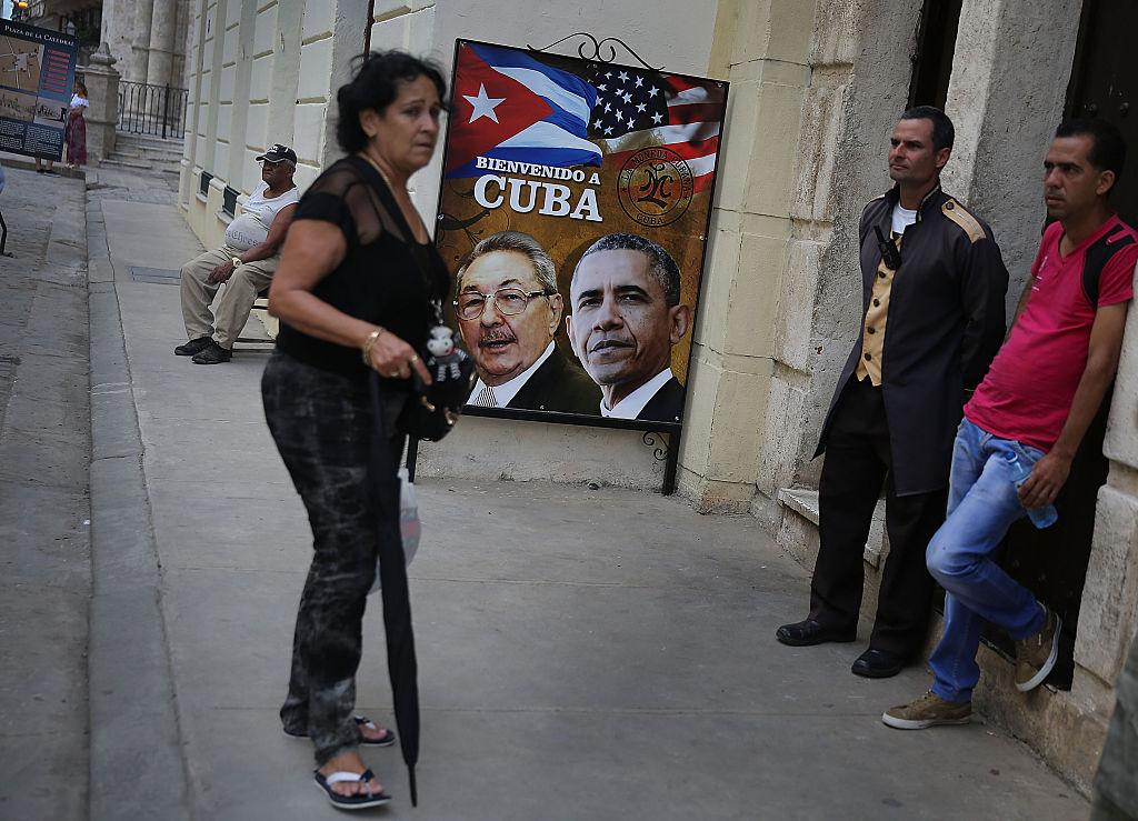 La Habana se alista para recibir a Obama. Foto: Getty