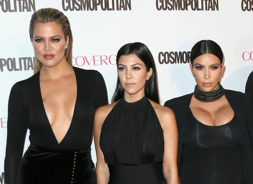 Khloe Kourtney y Kim Kardashian