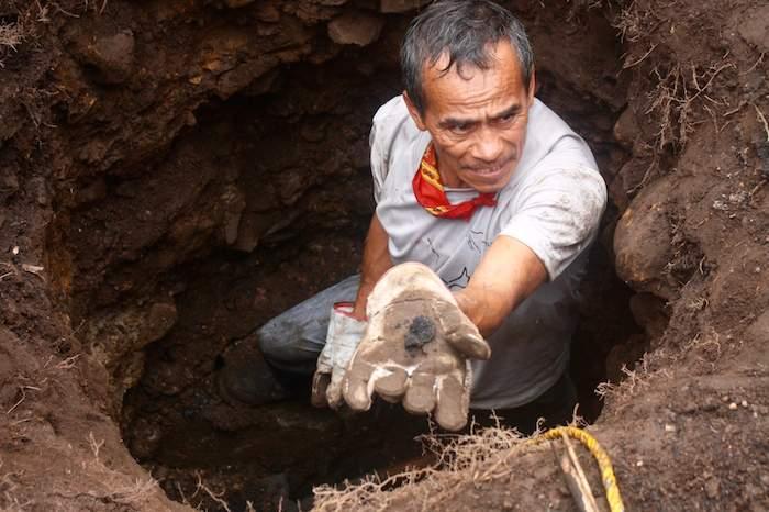 La brigada civil halló 500 restos óseos en cementerios clandestinos de Veracruz.