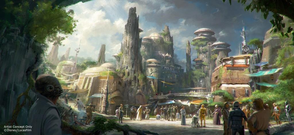 Se desconoce la fecha de inauguración de 'Star Wars Land'.