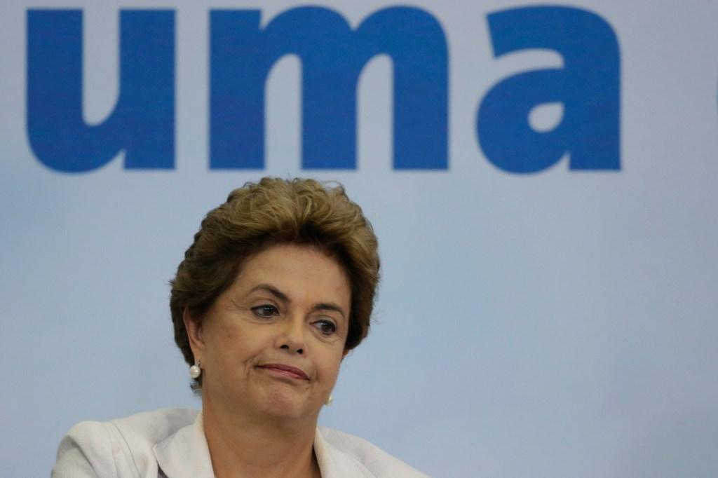 La presidenta de Brasil, Dilma Rousseff sufre la peor crisis de poder en su mandato.
