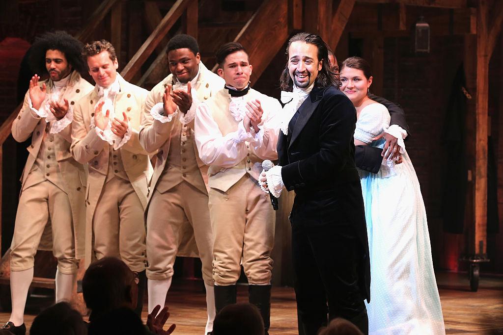 """Premier de """"Hamilton"""" en Broadway, en el teatro Richard Rodgers, el 6 de agosto de 2015."""