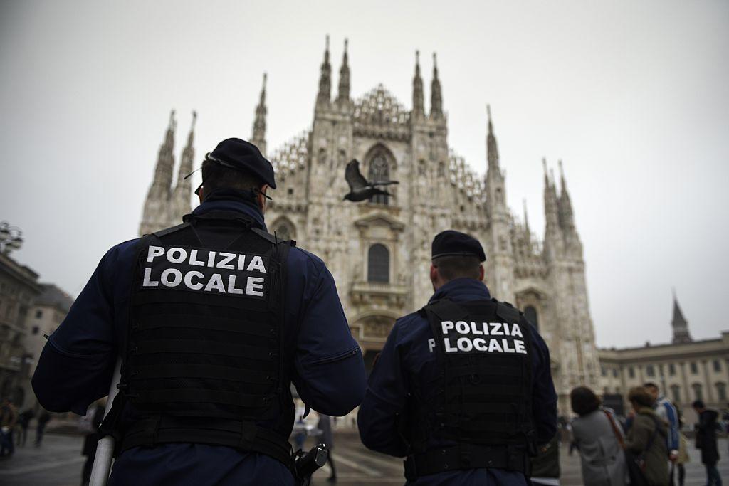 """La Polizia di Stato tiene una unidad dedicada a combatir la criminalidad extranjera, incluyendo las llamadas """"gang latine"""". Foto: Getty"""
