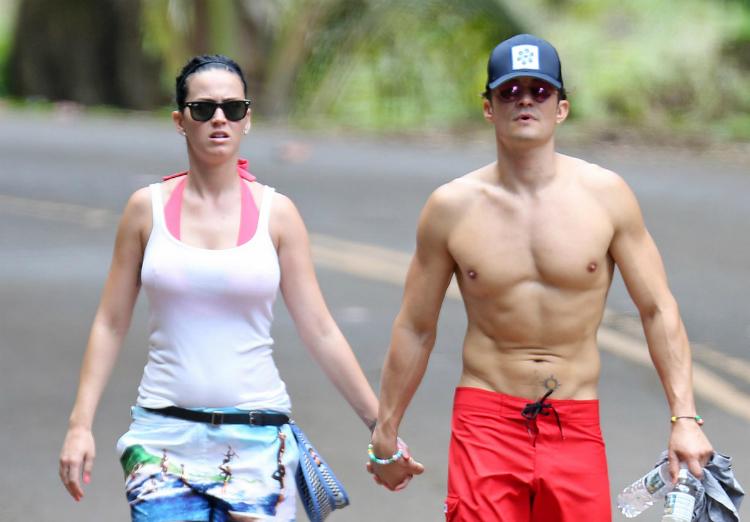 Katy Perry Orlando Bloom en Hawaii