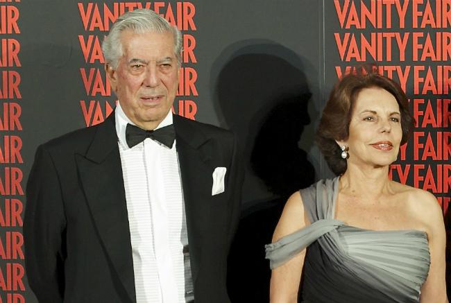 Mario Vargas Llosa Patricia