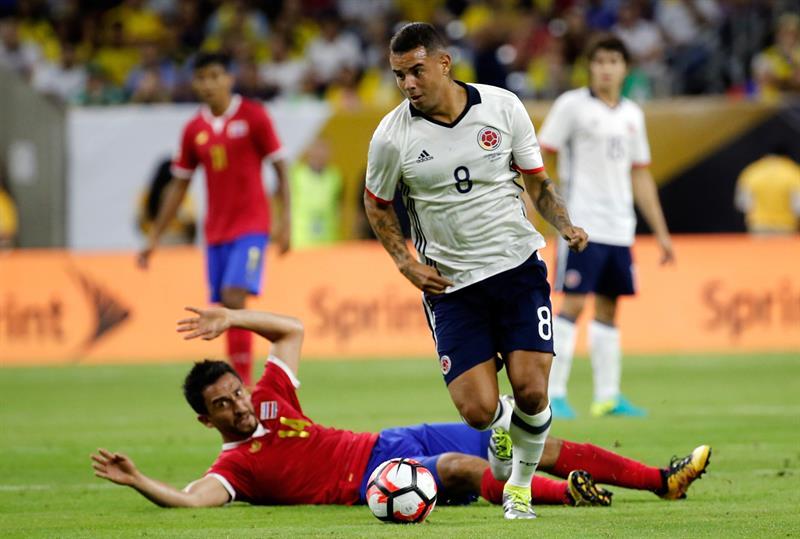 Colombia perdió con Costa Rica Rica y puede jugar con Brasil