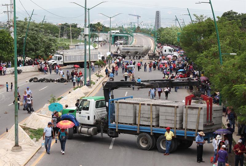 Violencia en Nochixtlán.