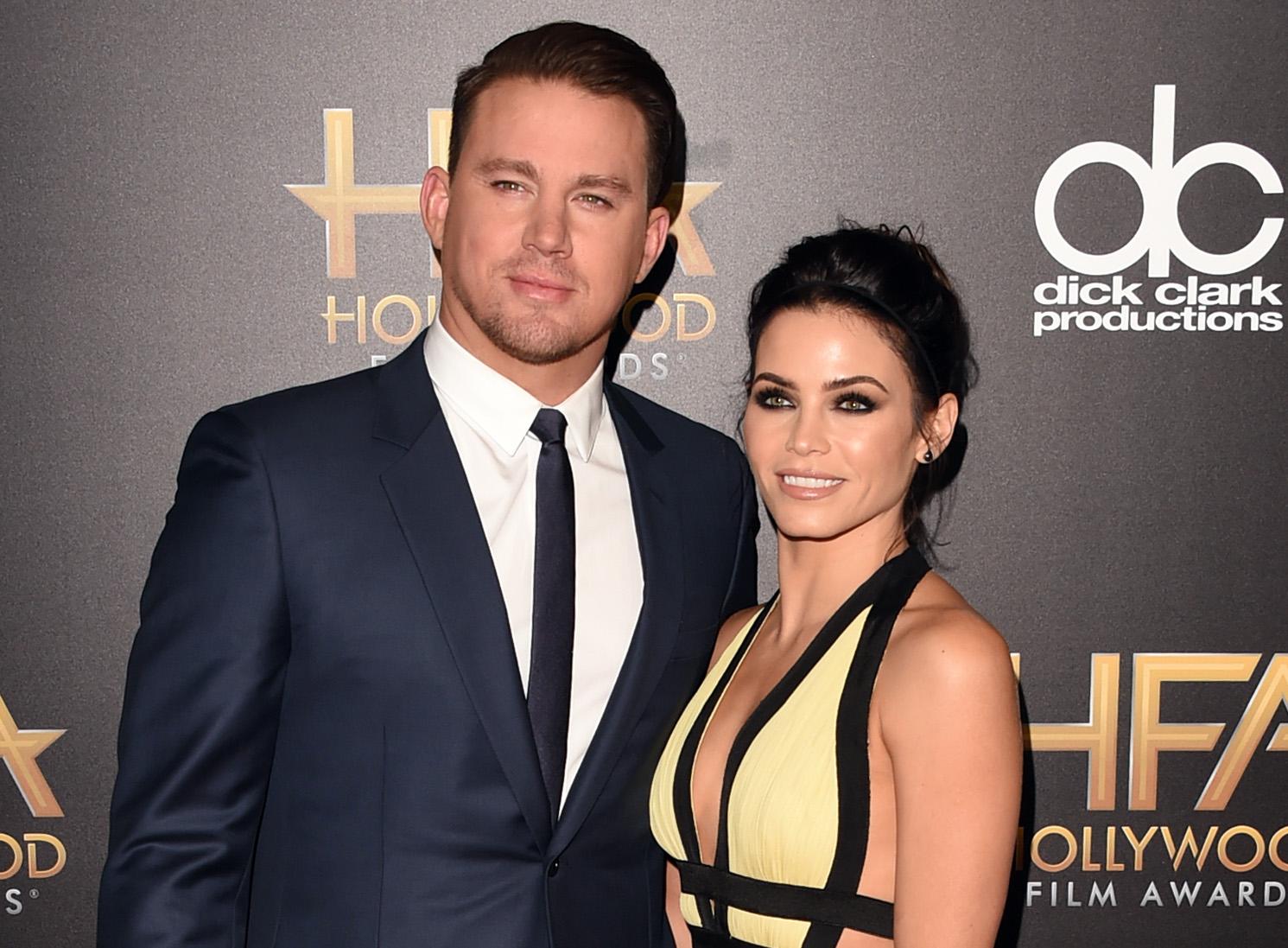 Llevan años casados, pero entre Channing Tatum y Jenna Dewan todavía saltan chispas.