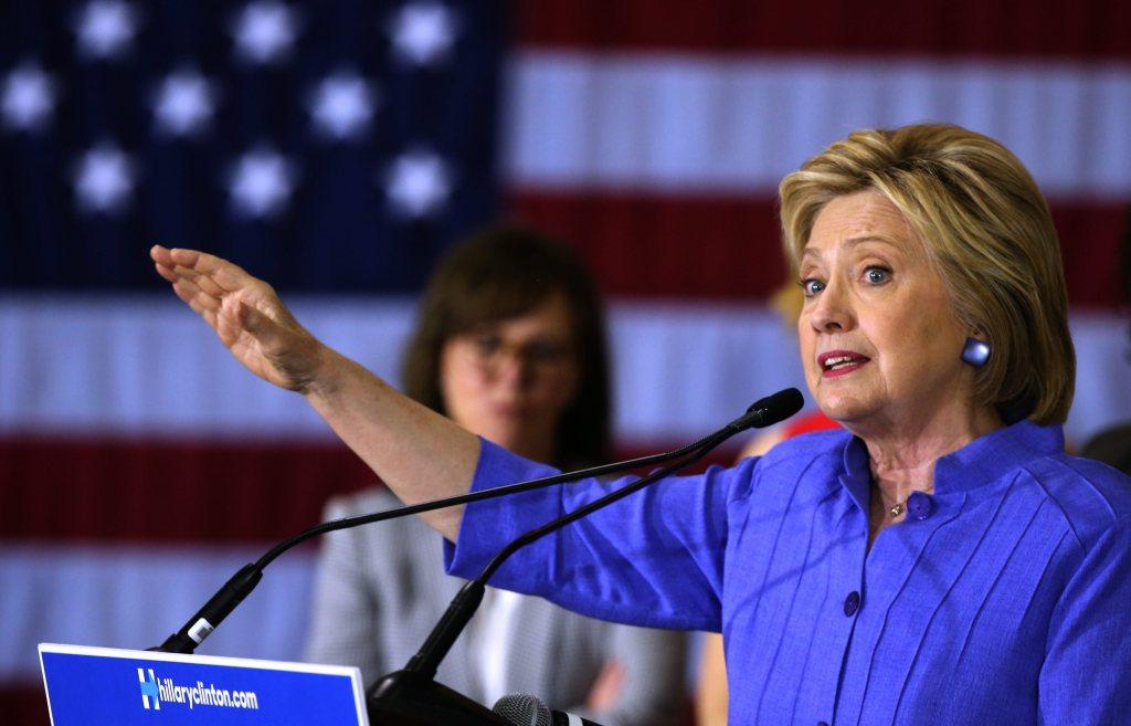 Hillary Clinton. Foto: Getty