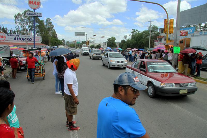 Desabasto en Oaxaca