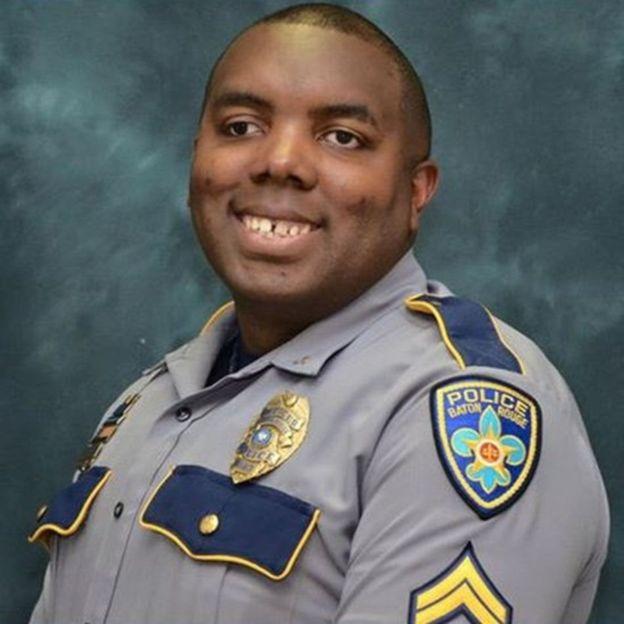 Montrell Jackson fue uno de los policías asesinados en Baton Rouge. Días antes publicó un emotivo mensaje en Facebook sobre lo difícil de ser un policía negro en esa ciudad. Tenía 10 años de servicio.