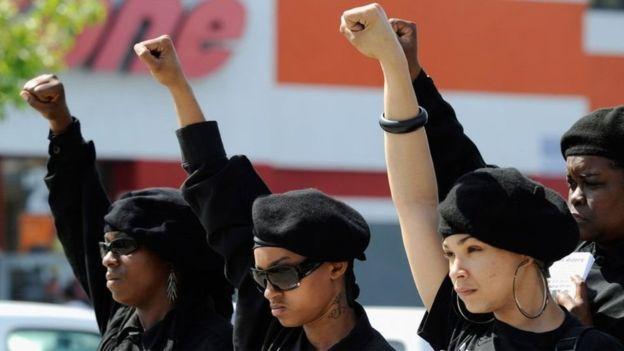 Acción y reacción. Las muertes de ciudadanos negros en incidentes policiales ha motivado el resurgimiento de movimientos separatistas de esta comunidad.