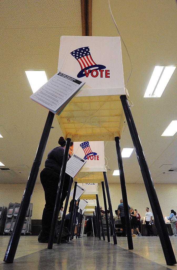 Urnas de voto.