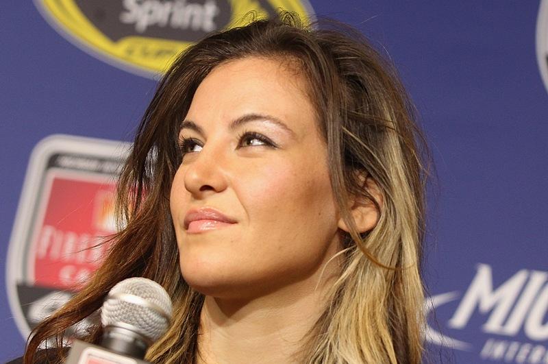 Miesha Tate, una de las peleadoras más bellas de las MMA.