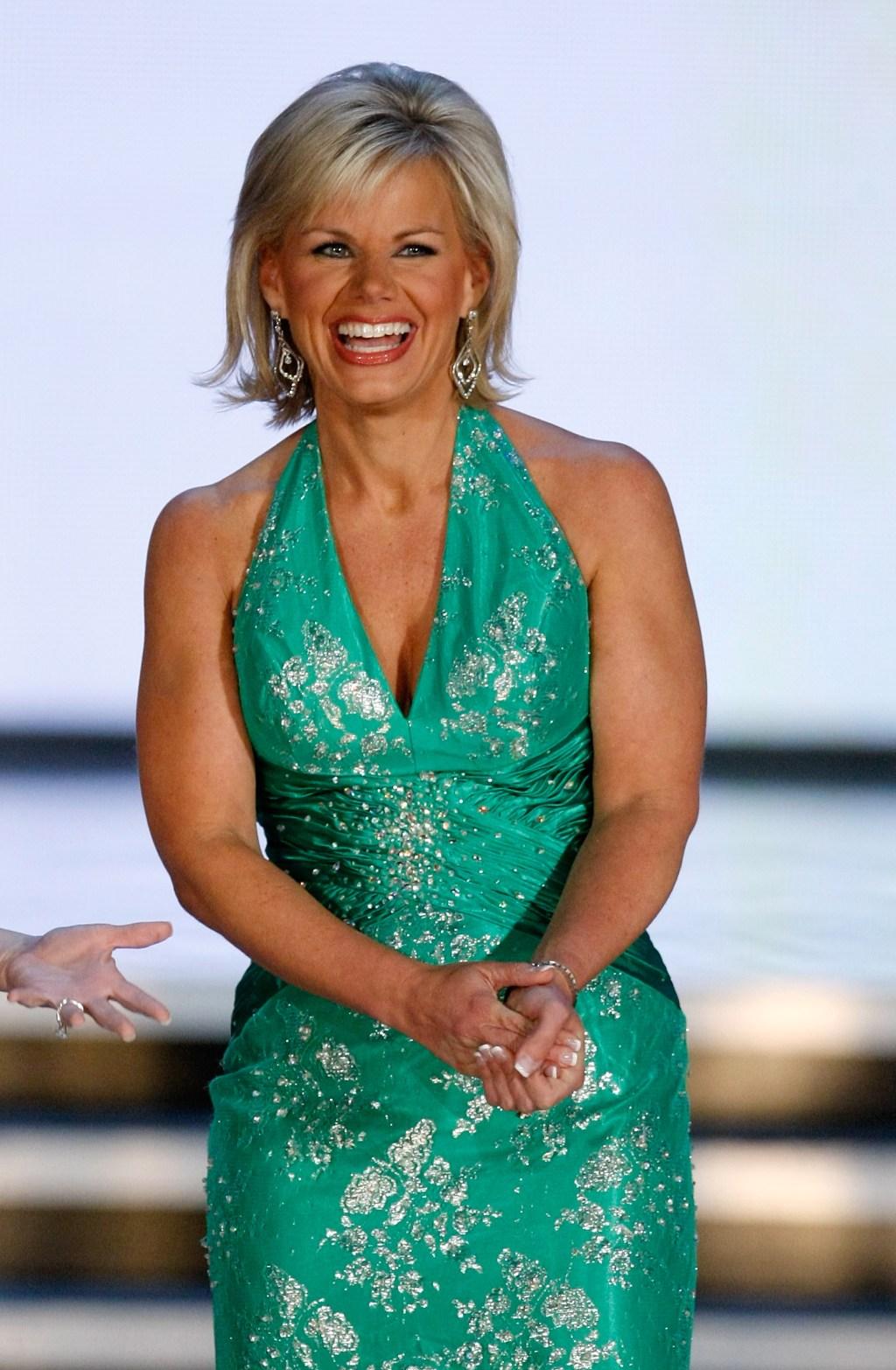 Gretchen Carlosn, Miss America 1989, en la ceremonio de Miss America 2010 en Las Vegas.