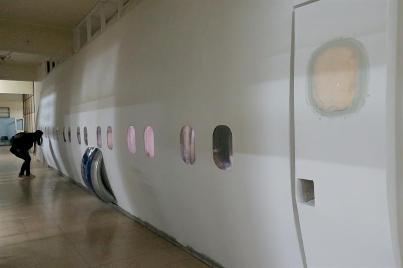 paredes avion