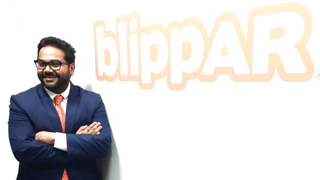 Blippar obtiene fondos gracias a sus asociaciones con marcas como la fabricante de autos Jaguar y de alimentos Unilever.
