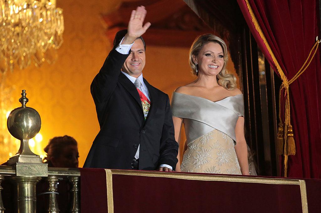 Angélica Rivera, esposa del presidente de México, Enrique Peña Nieto.