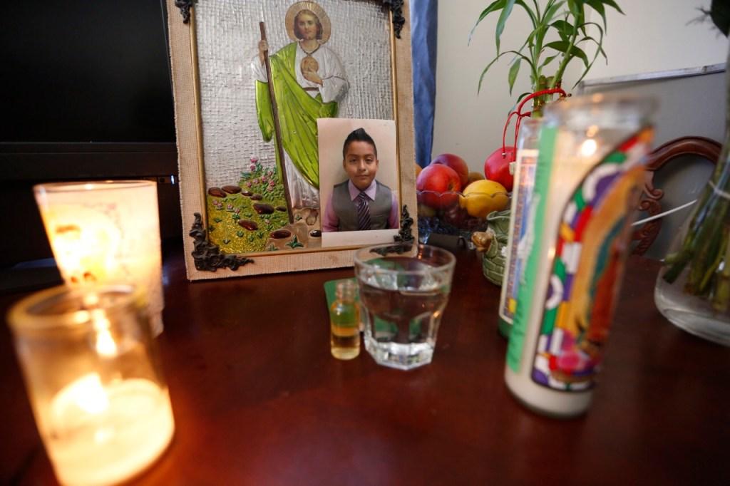 Jesse James Romero, de 14 años, fue muerto a tiros por la Policía. Foto: Aurelia Ventura/La Opinión