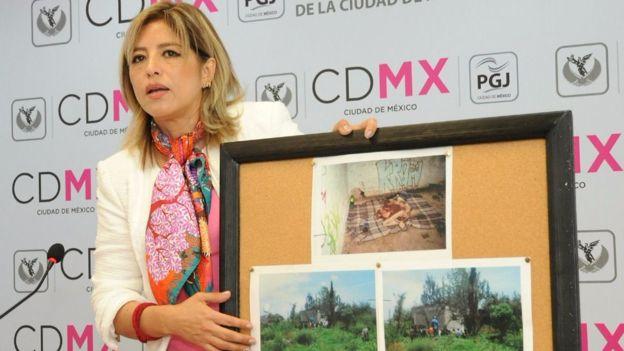La fiscal Margarita Maguey dice que desde niño el sospechoso fue abandonado por sus padres.