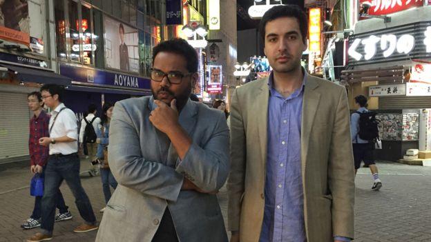 """Ambarish describe al cofundador, Omar Tayeb, como el """"inteligente y educado"""" de la dupla."""