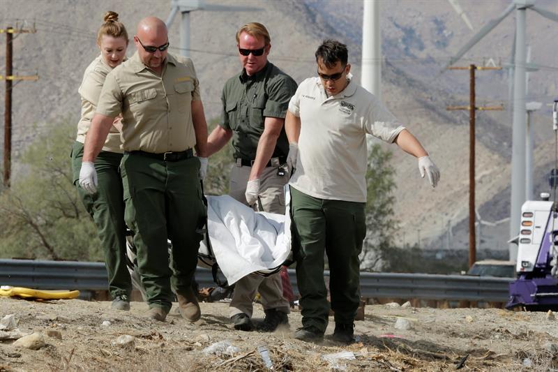 Al menos 13 personas murieron en el accidente en Palm Springs.