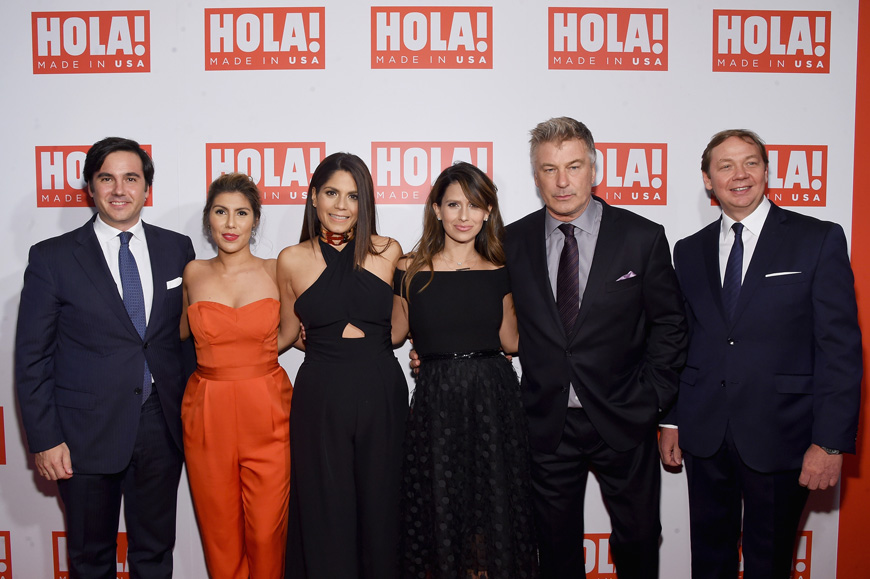 HOLA! USA Launch Hosted by Alec & Hilaria Baldwin - Arrivals