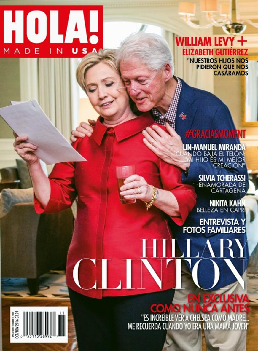 Hillary Clinton portada Hola USA