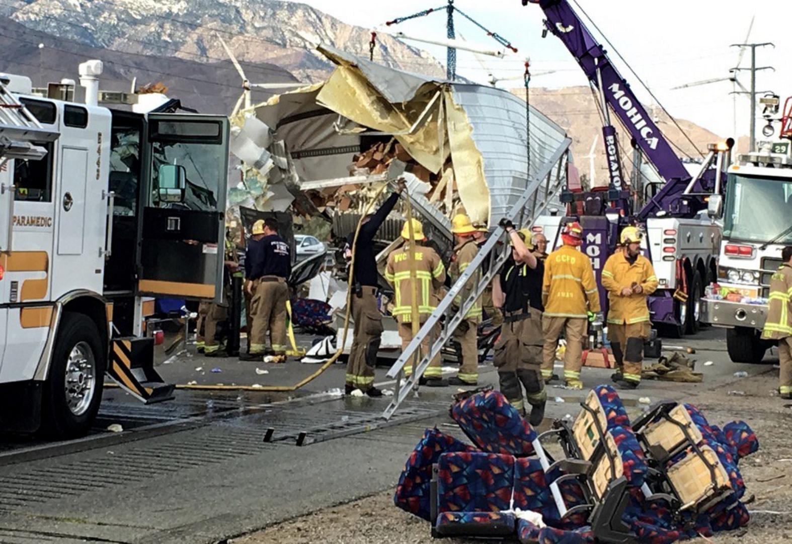 El accidente dejó como saldo 13 muertos.
