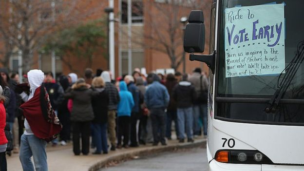 Las denuncias sobre electores que son trasladados para votar en varios centros no han sido comprobadas, según King.