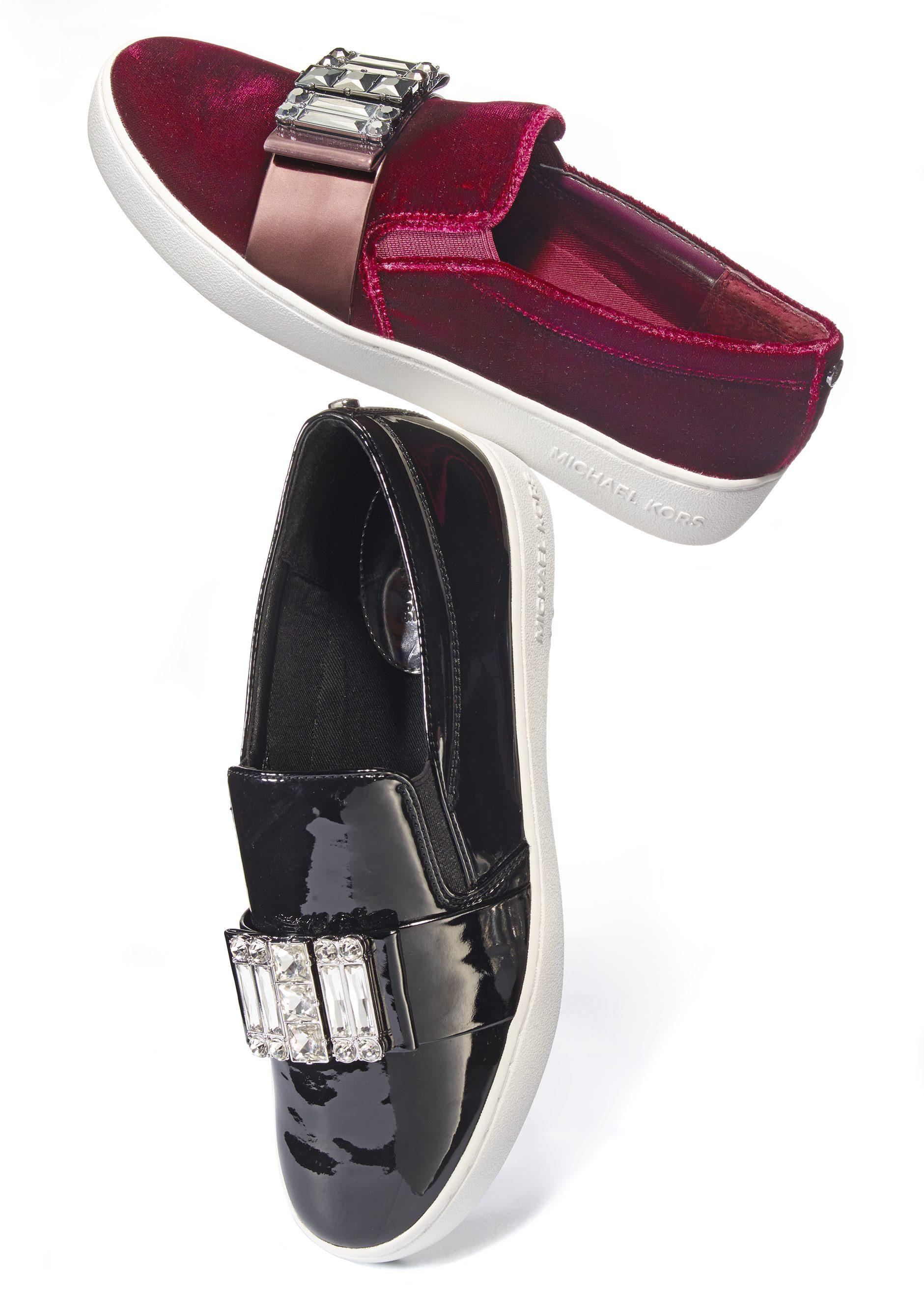 Zapatos 'loafer' presentados por la compañía Michael_Kors. Costo: $160