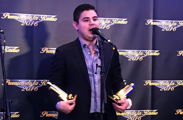 Alfredo Olivas, ganador en Premios de la Radio 2016 / Foto: Armando Tinoco