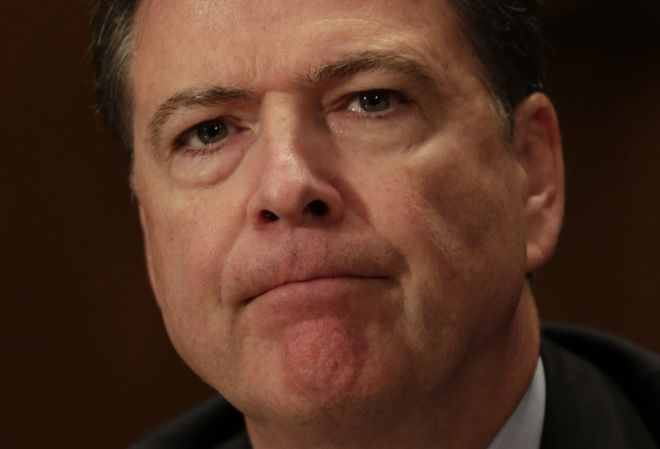 El director del FBI, James Comey sacudió la campaña para la presidencia de EE.UU. a poco más de una semana de la cita electoral. Getty