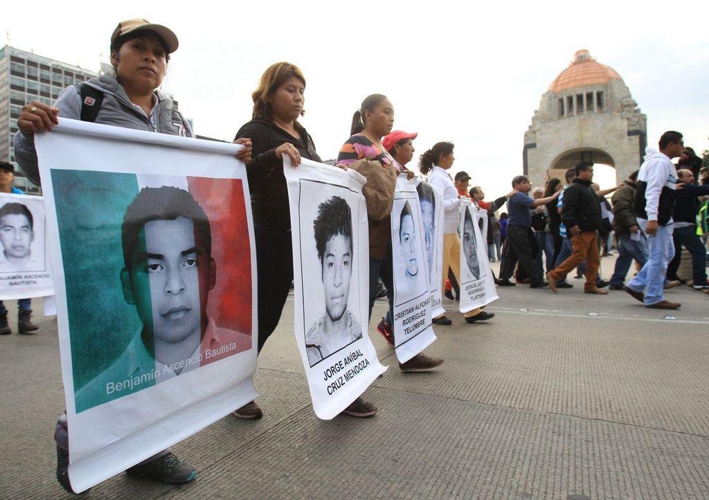 Los 43 normalistas de Ayotzinapa desaparecieron el pasado 26 de septiembre.