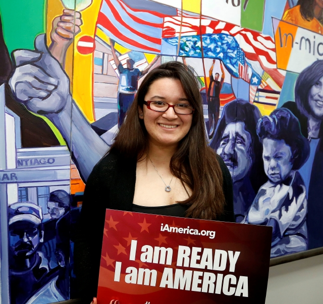 Jeisy Almadovar, de 15 años, es candidata para DACA.