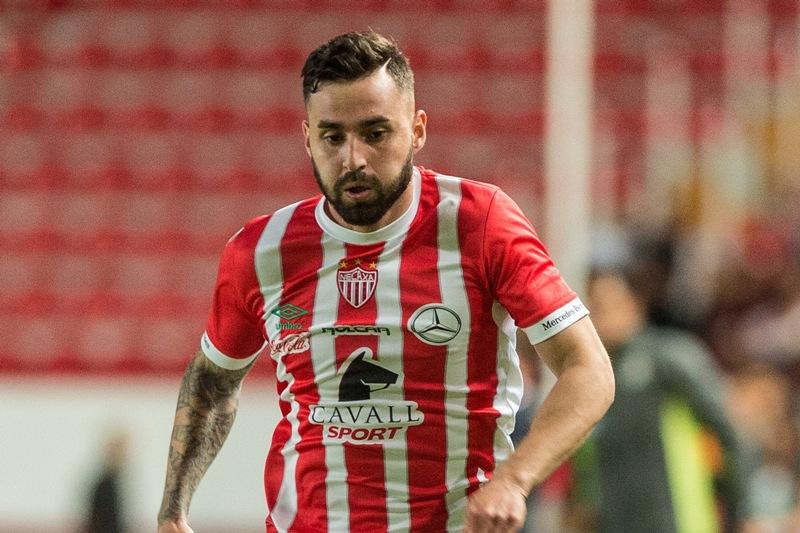 Luis Gallegos ha estado con Necaxa desde su ascenso a Primera.