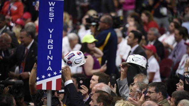 El estado de Virginia Occidental votó por Donald Trump en la elección presidencial, con 68,7% de apoyo. Getty