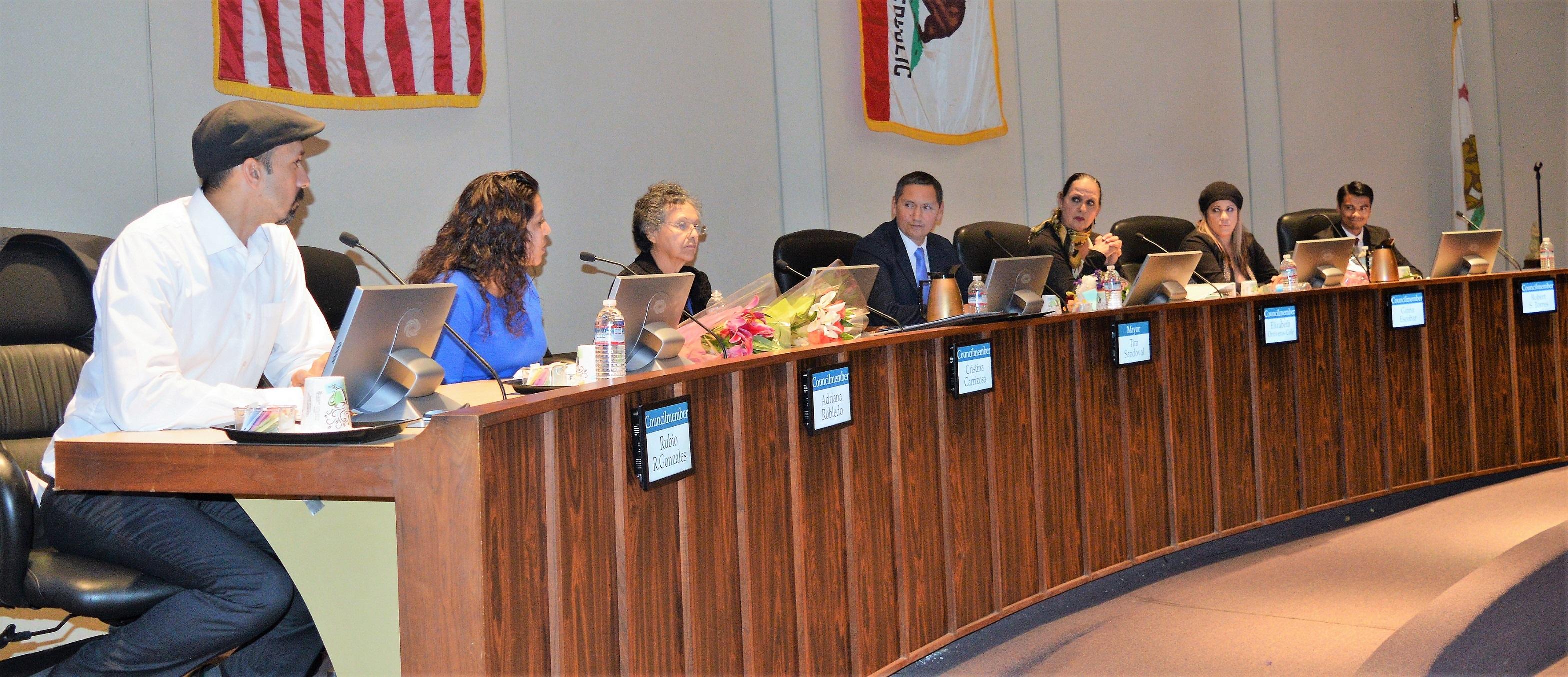 El Concilio Municipal de Pomona tiene cuatro nuevos miembros, todos ellos latinos.