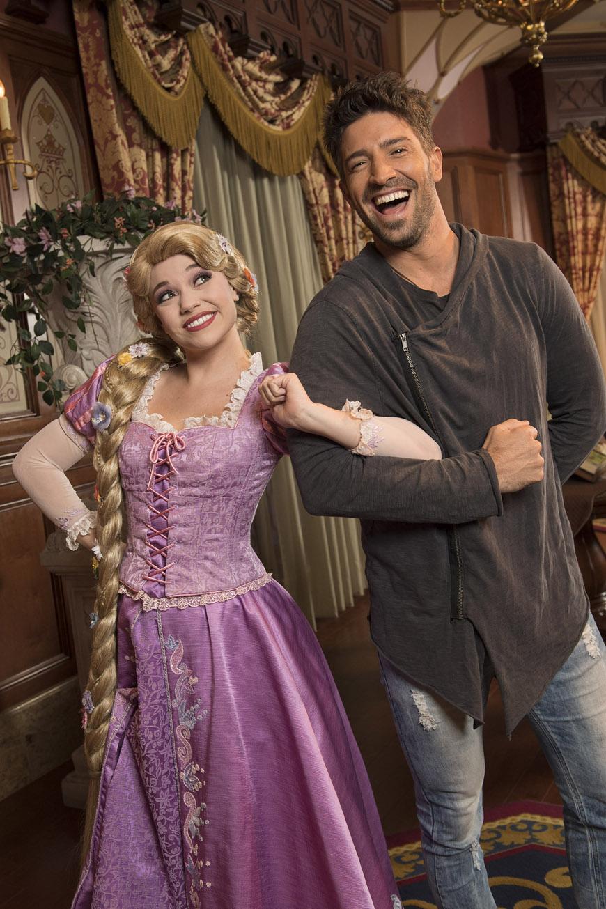 David Chocarro con Rapunzel