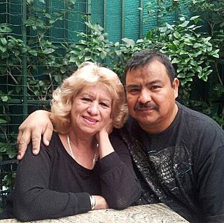 02/10/17/ LOS ANGELES/Family photograph of Rosy Rios with his common law husband, Manuel Mosque Lopez. Rosy Rios described how his common law husband, Manuel Mosque Lopez, was taken by ICE officials during a raid at their Van Nuys home. Immigration advocates claim more than 100 people were detained Thursday as U.S. Immigration and Customs Enforcement officials conducted home raids across three Southern California counties. (Photo Aurelia Ventura/ La Opinion)