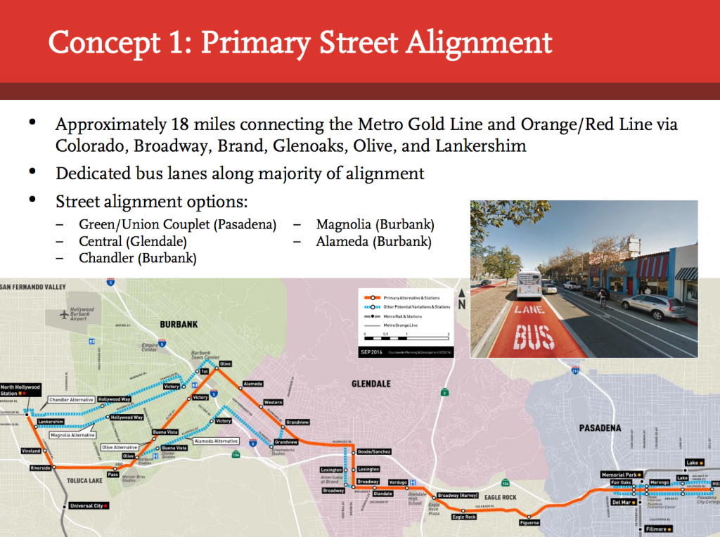 Propuesta 1 (Foto: LA Metro Authority)