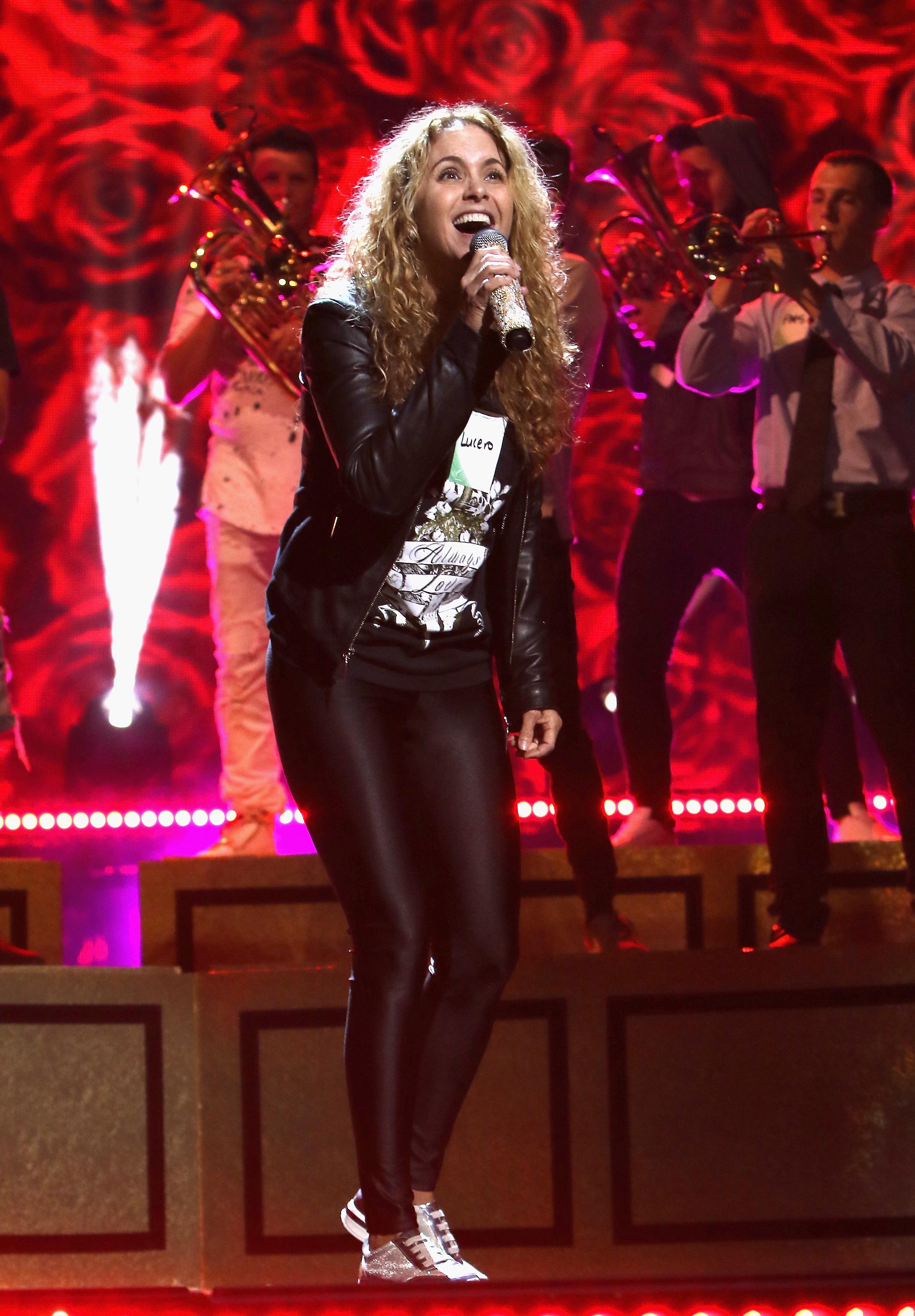 Lucero será una de las artistas que cantarán durante la noche de premios